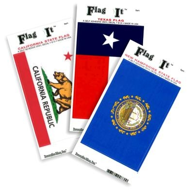 State Flag-It Stickers