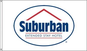 Suburban Extended Stay Hotel Flags