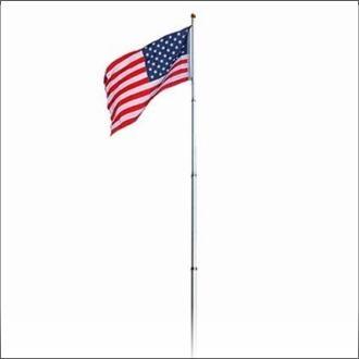 Tailgating Fiberglass Flagpole