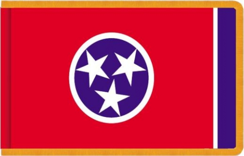 Indoor Tennessee State Flag, Nylon