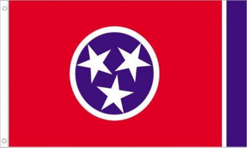 Tennessee Flag, Nylon