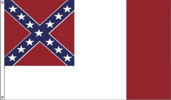 Third National Confederate Flags