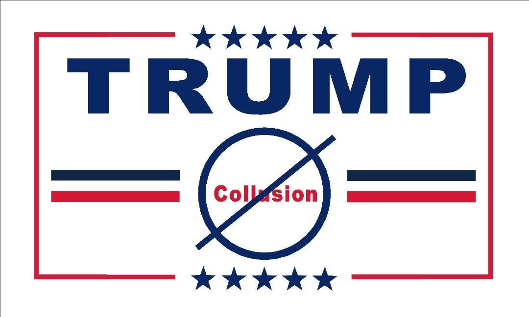 "Trump Flag  ""No Collusion"""