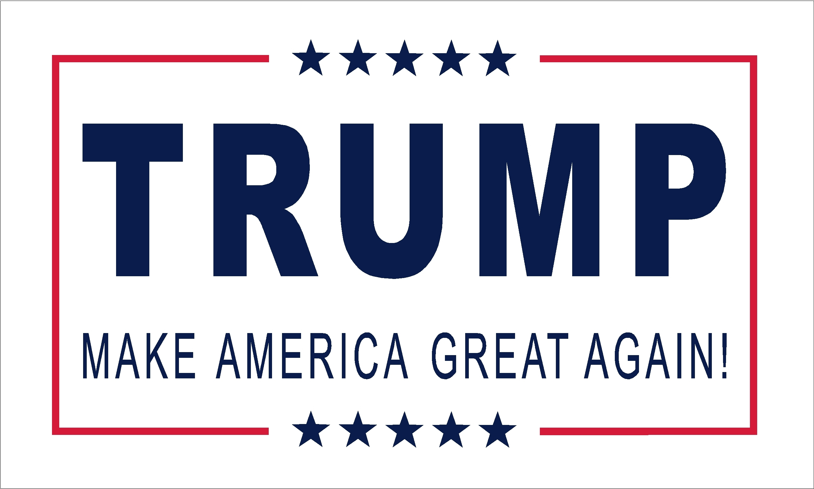 "Trump Flag ""Make America Great Again"""