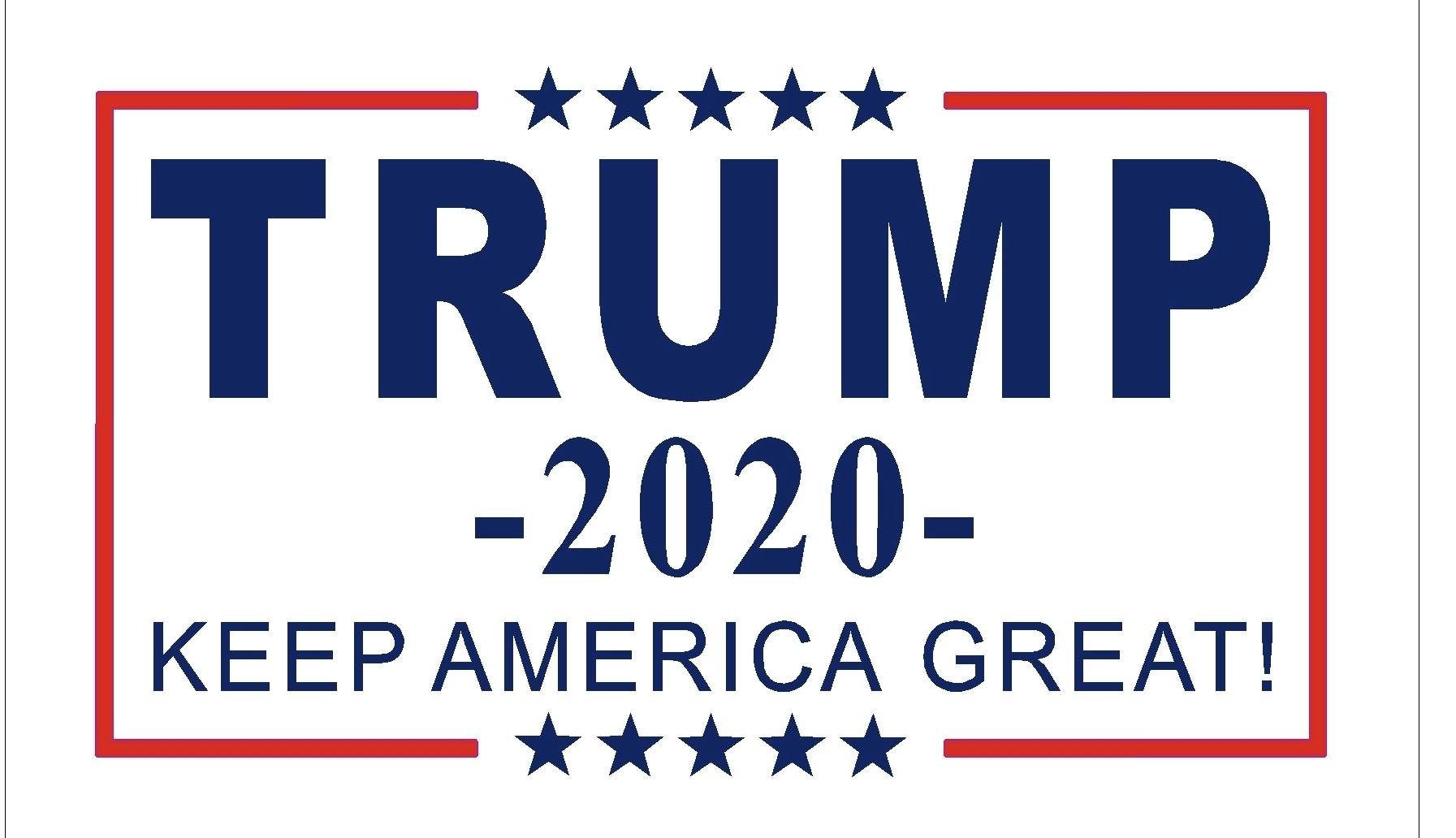 "Trump 2020 ""Keep America Great"""