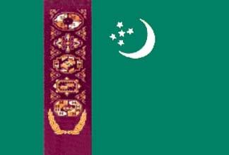 Turkmenistan, Turkmen Flag