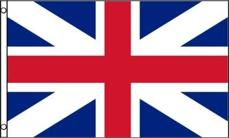Union Jack Flag (King's Colors), 3' x 5' Nylon