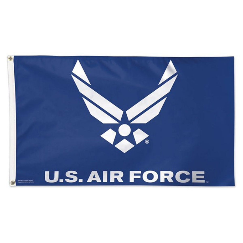 3' x 5' US Air Force Blue Logo, H & G, Nylon Flag