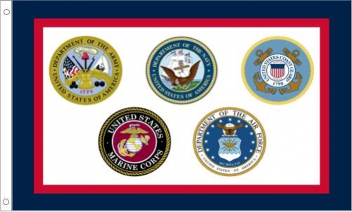 US Armed Forces Flag