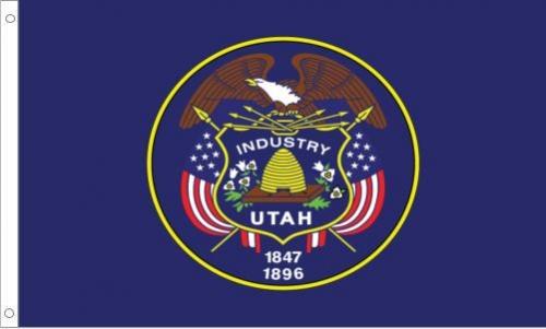 Utah State Flag, Nylon