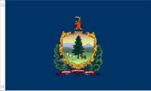Vermont Flag, Polyester
