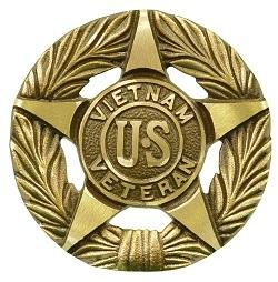 Vietnam US Veteran Bronze Grave Marker