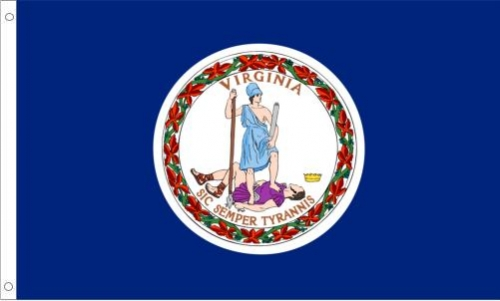 Virginia Flag, Nylon