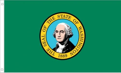 Washington State Flag, Nylon
