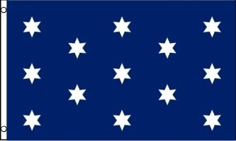 Washington's Commander-In-Chief Flag, 3' x 5' Nylon