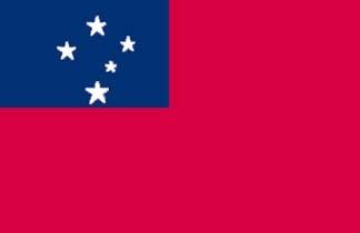 Western Samoa, Western Samoan Flag
