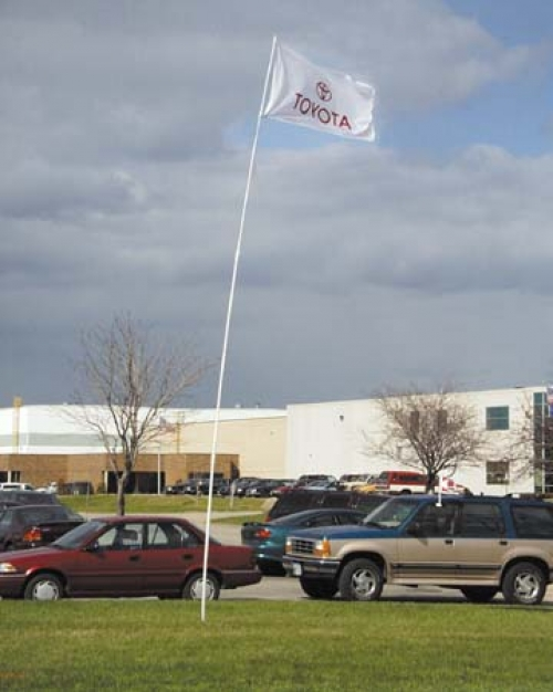 SuperFlex Flagpoles