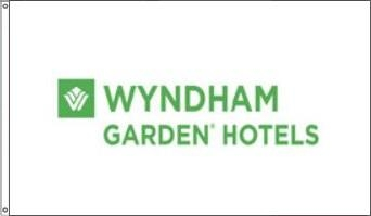 Wyndham Garden Hotel Flags